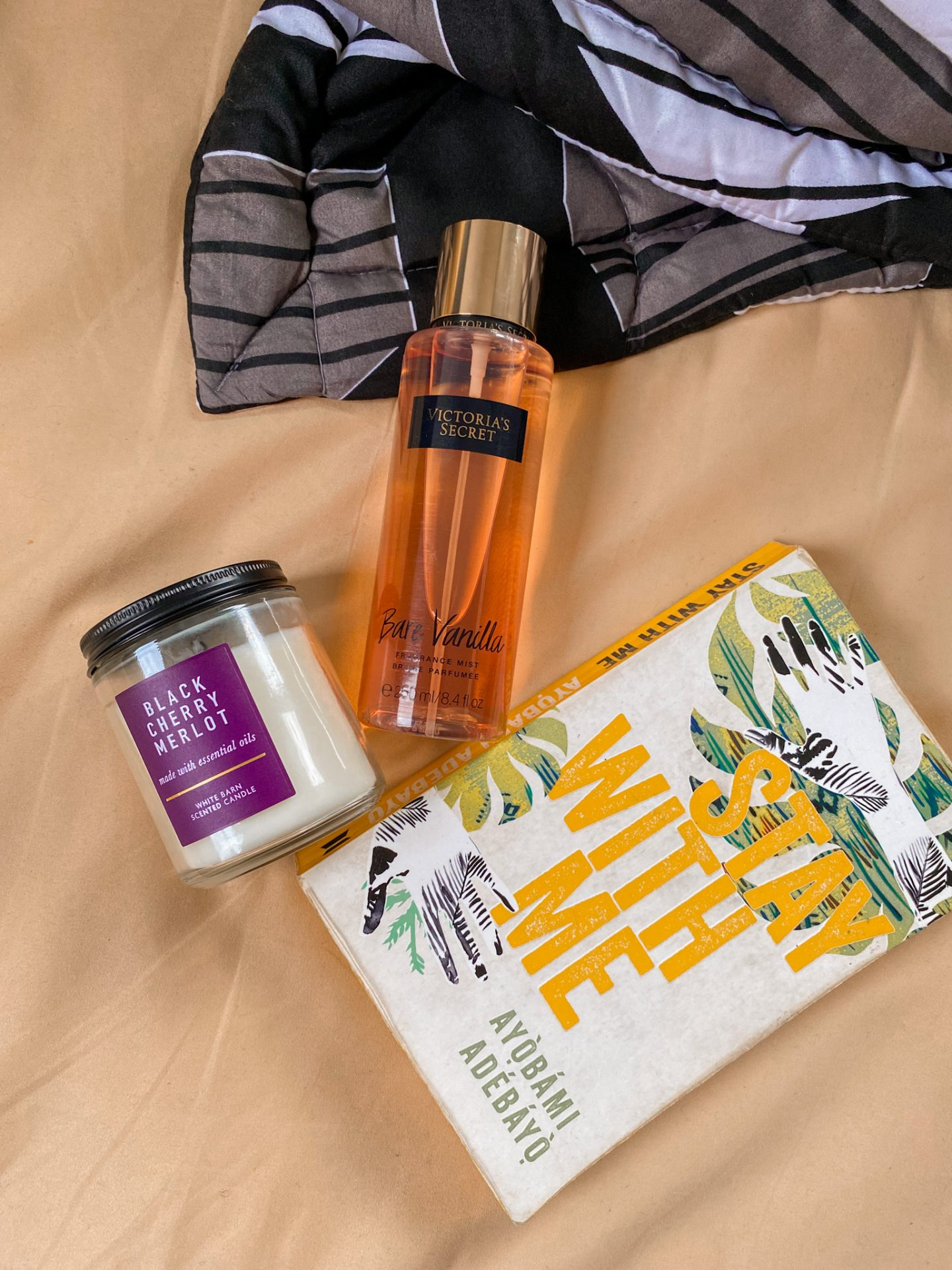 valerie egbuniwe current favorites 2020, stay with me novel, bare vanilla body spray