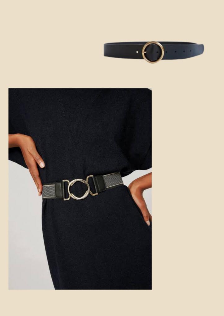 black belt, basic wardrobe essentials