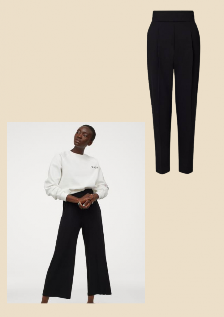 black pants wardrobe essentials for every woman