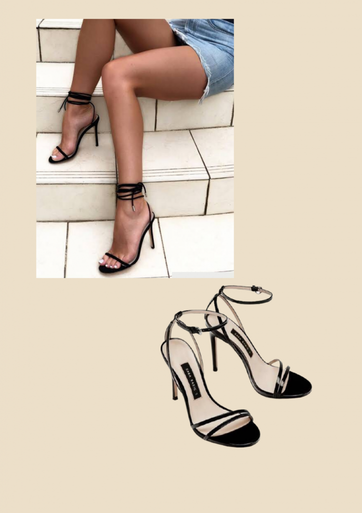 black barely there heels, basic wardrobe essentials for every woman